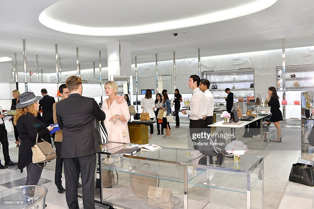 Guests attend Barneys New York, Ann Dexter-Jones, And Annabelle Dexter-Jones Host A Private Luncheon For Delvaux at Barneys New York Beverly Hills on May 24, 2016 in Beverly Hills, California.