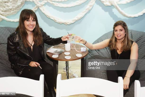 Guests attend Brit Co Kicks Off Experiential PopUp #CreateGood with Allison Williams and Daphne Oz at Brit Co on October 4 2017 in New York City