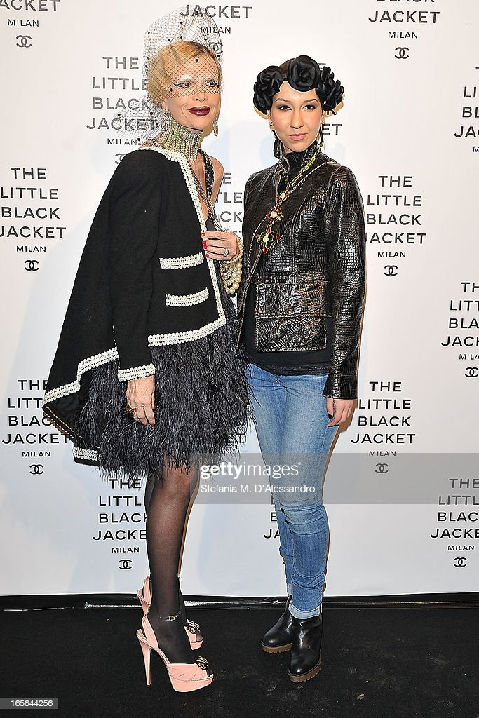 Guests attend Chanel The Little Black Jacket - Karl Lagerfeld Photography Exhibition Dinner Party on April 4, 2013 in Milan, Italy.