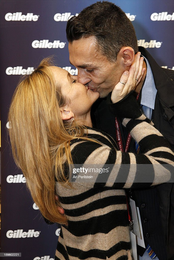 Guests attend Day 1 of Gillette Ask Couples at Sundance to 'Kiss & Tell' if They Prefer Stubble or Smooth Shaven on January 18, 2013 in Park City, Utah.