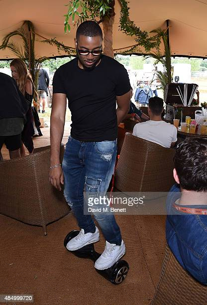 Guests attend day 2 of CIROC MAHIKI backstage at V Festival at at Hylands Park on August 23 2015 in Chelmsford England