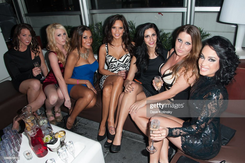 Guests attend Deena Nicole Cortese Birthday Celebration at VENUE>> on January 12, 2013 in New York City.