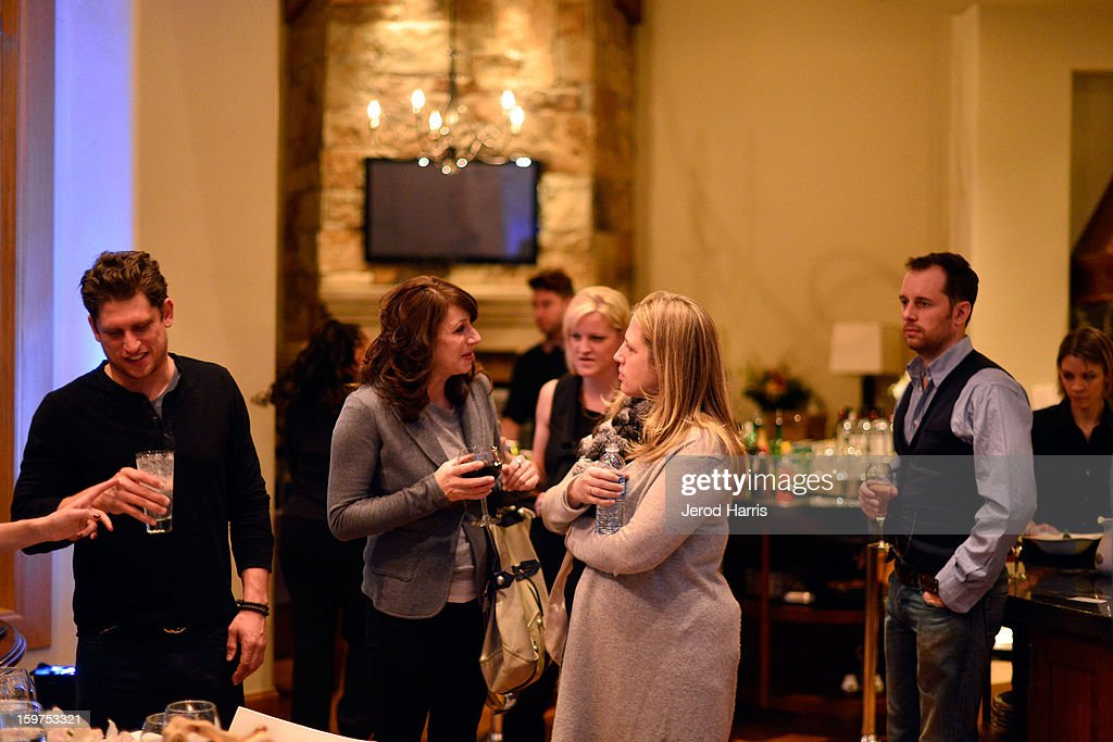 Guests attend Drink and Dine with Dell and #Inspire 100 Honorees at Sundance Film Festival on January 19, 2013 in Park City, Utah.