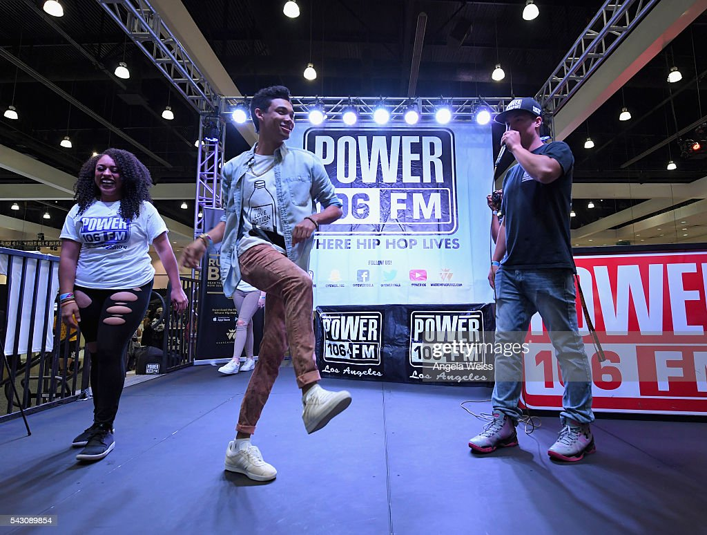 Guests attend FAN FEST during the 2016 BET Experience on June 25, 2016 in Los Angeles, California.