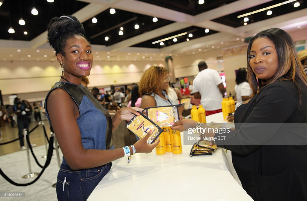 Guests attend Fashion And Beauty @BETX presented by Progressive, Covergirl, Strength of Nature, Korbel and Macy's during the 2016 BET Experience on June 25, 2016 in Los Angeles, California.