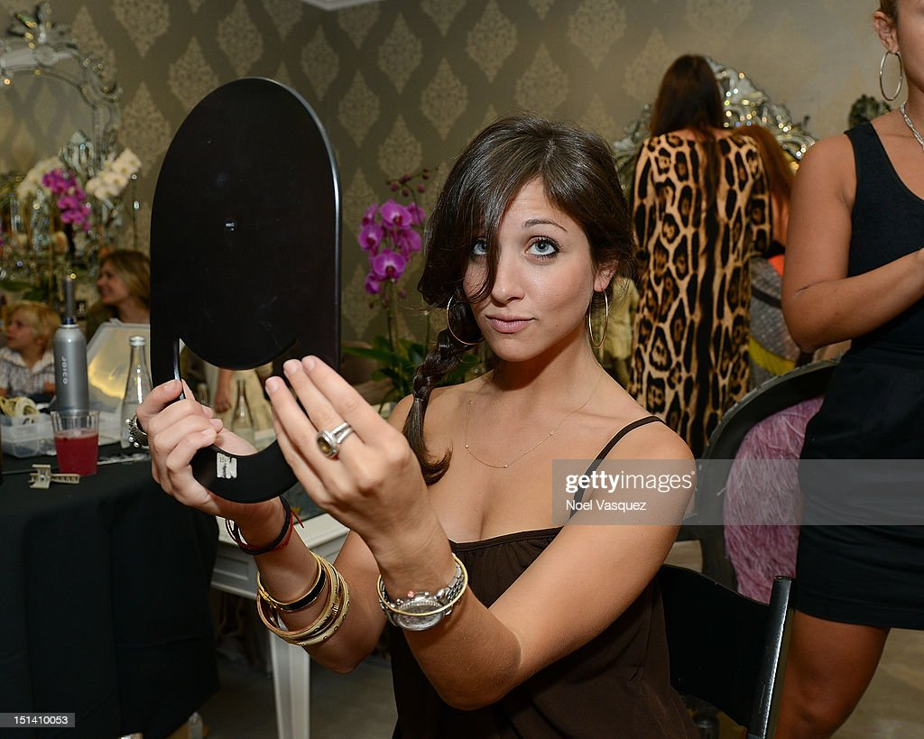 Guests attend Fashion's Night Out at Kyle by Alene Too on September 6, 2012 in Beverly Hills, California.