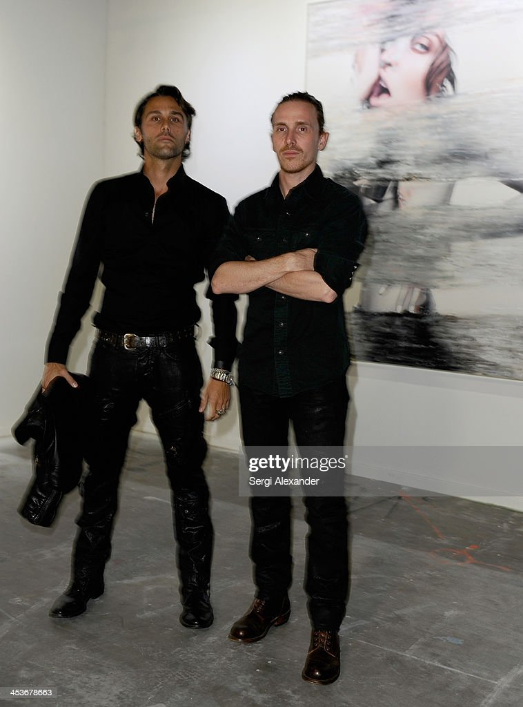 Guests attend Flaunt Magazine and Wildfox Present a performance by Vanessa Beecroft hosted by Jimmy Sommers and Balthazar Getty for 'Affordable Care' at Mana Wynwood on December 4, 2013 in Miami, United States.