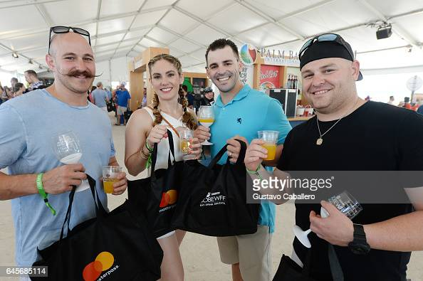 Guests attend Goya Foods' Grand Tasting Village Featuring Mastercard Grand Tasting Tents KitchenAid Culinary Demonstrations Day 2 on February 26 2017...
