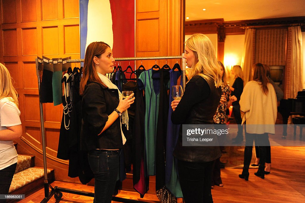 Guests attend Haney Pret-a-Couture Ambassador Event on October 25, 2013 in Dallas, Texas.