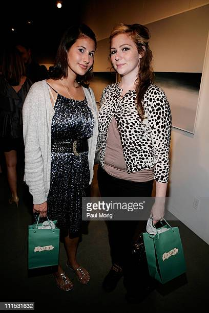 Guests attend La Mer Celebrates 'Liquid Light' By Fabien Baron at The Glass Houses on September 10 2008 in New York City