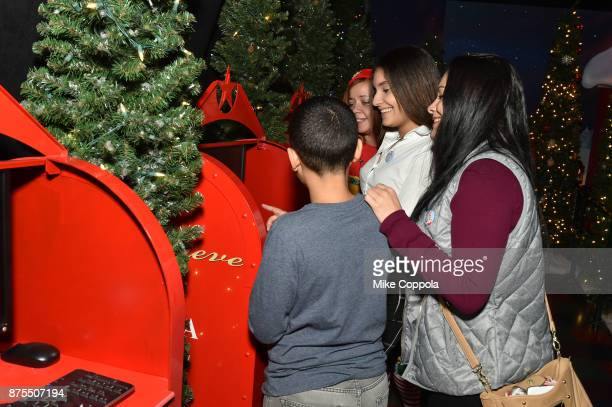 Guests attend Macy's Herald Square Santaland on November 17 2017 in New York City