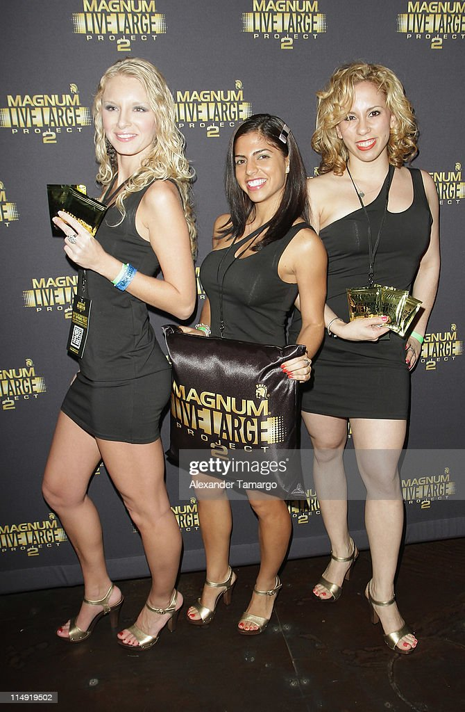 Guests attend Magnum Condoms & Ludacris Wrap Up The Magnum Live Large Project 2 In Miami at Cameo nightclub on May 28, 2011 in Miami Beach, Florida.