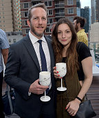 Guests attend Orlebar Brown presents the Spring/Summer 2017 Collection in partnership with Bold New York and Lifetime Athletic At Sky on July 13 2016...