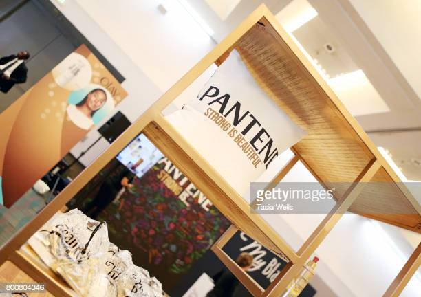 Guest's attend Pantene's My Black is Beauty at day two of Fashion and Beauty during the 2017 BET Experience at Los Angeles Convention Center on June...