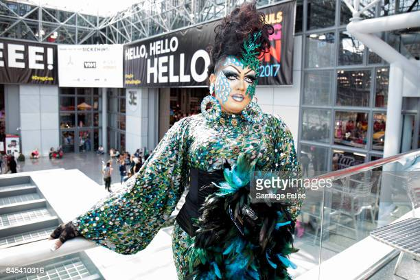 Guests attend RuPaul's DragCon NYC 2017 at The Jacob K Javits Convention Center on September 10 2017 in New York City