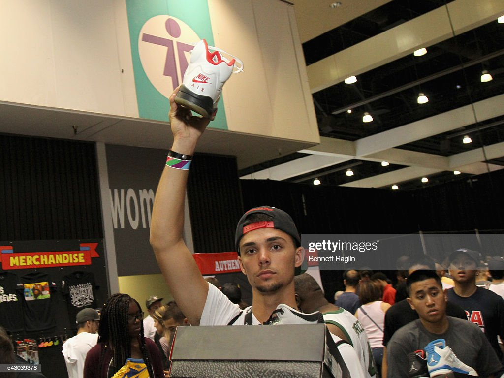 Guests attend SneakerCon presented by Sprite, Rush Card, & FDA during the 2016 BET Experience at Los Angeles Convention Center on June 25, 2016 in Los Angeles, California.