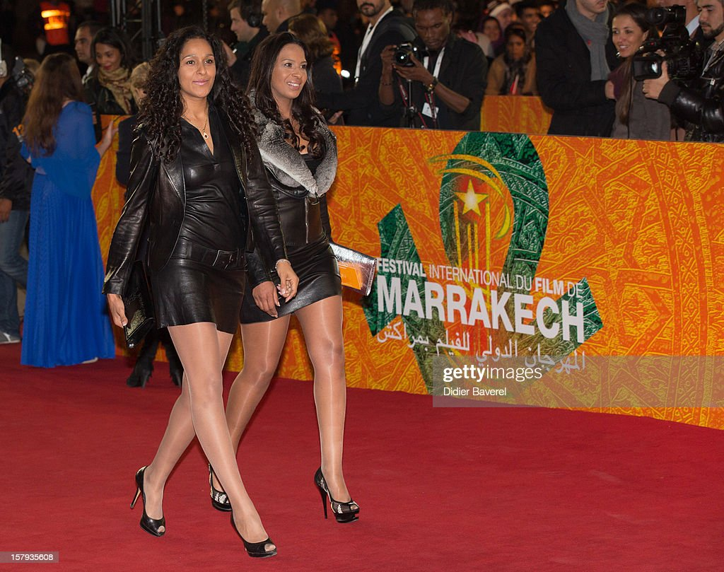 Guests attend the 12th International Marrakech Film Festival on December 7, 2012 in Marrakech, Morocco.