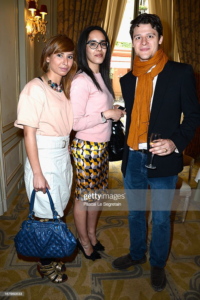 Guests attend the 2013 Launch of the Dorchester Collection Fashion Prize 2013 at Hotel Plaza Athenee on May 3, 2013 in Paris, France.