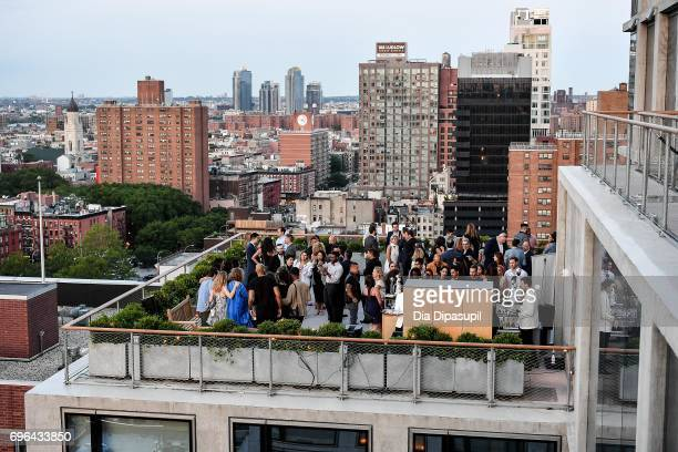 Guests attend the 20th Anniversary Celebration of Clase Azul Tequila at Public hotel on June 15 2017 in New York City