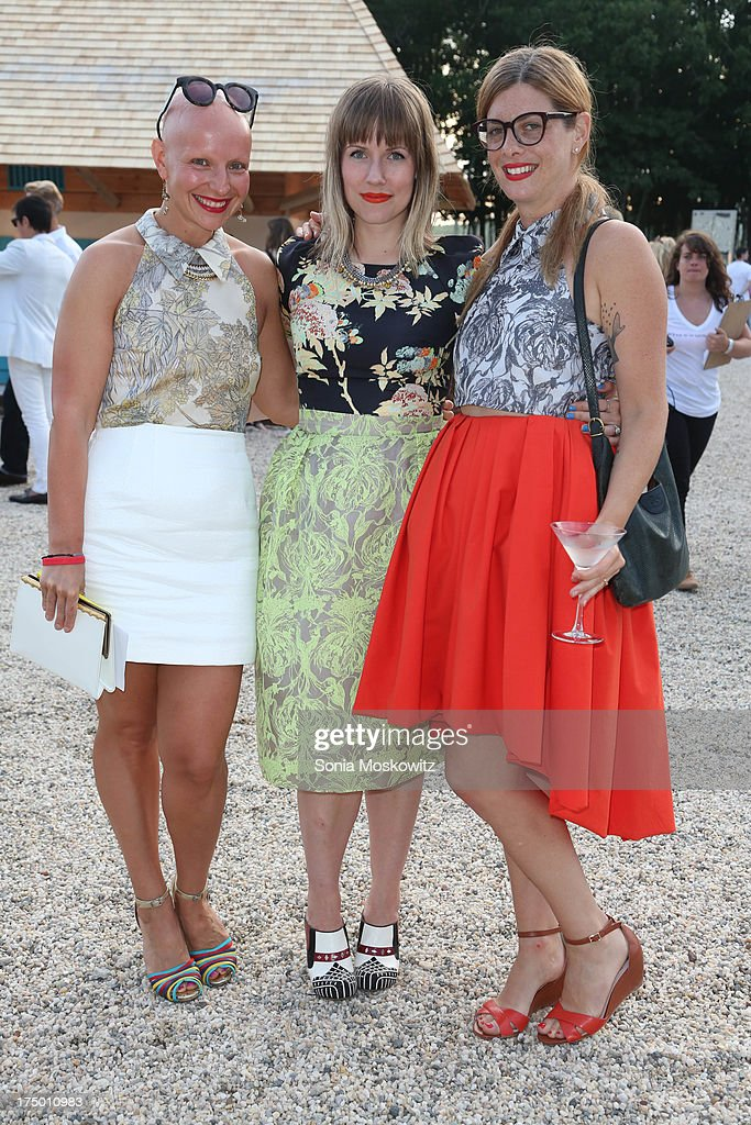 Guests attend The 20th Annual Watermill Center Summer Benefit at The Watermill Center on July 27, 2013 in Water Mill, New York