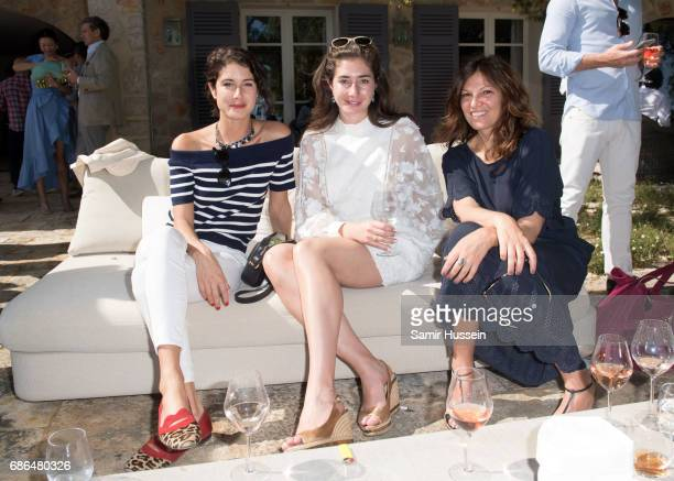 Guests attend the 'Ace of Spades' and Three Six Zero Entertainment Cannes Film Festival Celebration with Champagne Armand de Brignac at Les Hauts de...