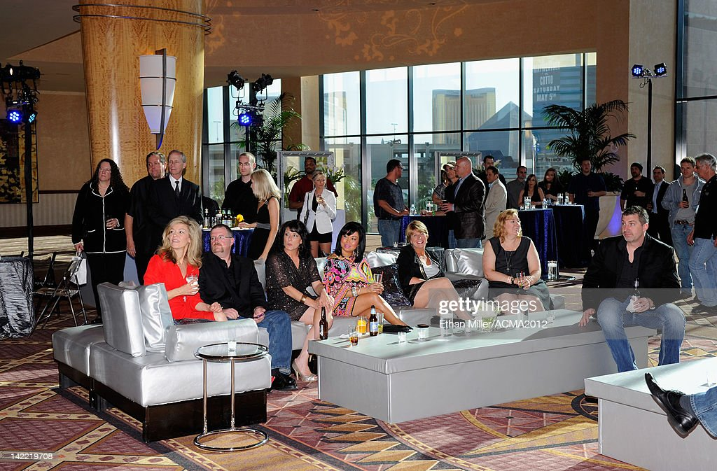 Guests attend the ACM Radio Awards Reception at the MGM Grand Hotel/Casino on March 31, 2012 in Las Vegas, Nevada.