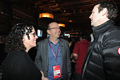 Guests attend the Alfred P Sloan Foundation Reception and Prize Announcement during the 2016 Sundance Film Festival at High West Distillery on...