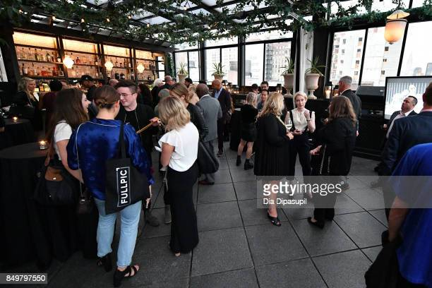 Guests attend the 'American Beauty Star' premiere at Gramercy Terrace at The Gramercy Park Hotel on September 19 2017 in New York City