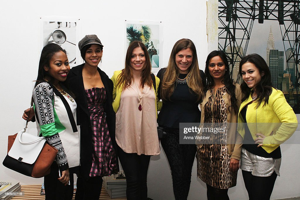 Guests attend the American Express VIP Cardmember Lounge at MADE at Milk Studios on February 7, 2013 in New York City.