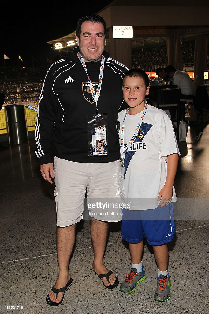 Guests attend the American Express VIP Game Experience With <a gi-track='captionPersonalityLinkClicked' href=/galleries/search?phrase=Landon+Donovan&family=editorial&specificpeople=171601 ng-click='$event.stopPropagation()'>Landon Donovan</a> at StubHub Center on September 21, 2013 in Los Angeles, California.