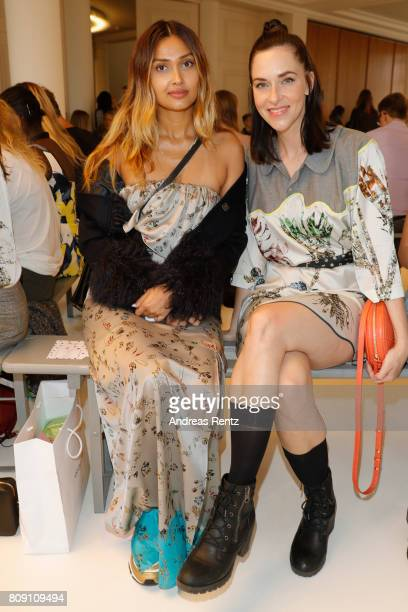 Guests attend the Antonia Goy Defile during 'Der Berliner Mode Salon' Spring/Summer 2018 at Kronprinzenpalais on July 5 2017 in Berlin Germany