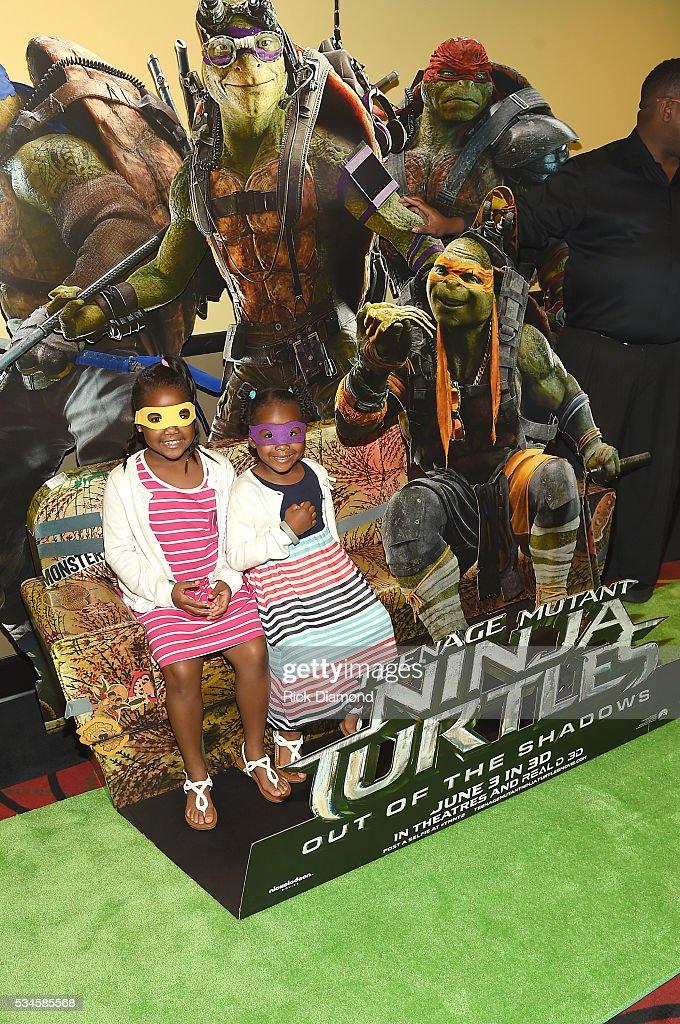 Guests attend the Atlanta Screening of the Paramount Pictures title 'Teenage Mutant Ninja Turtles: Out of the Shadows', on May 26, 2016 at AMC Phipps Plaza in Atlanta, Georgia.
