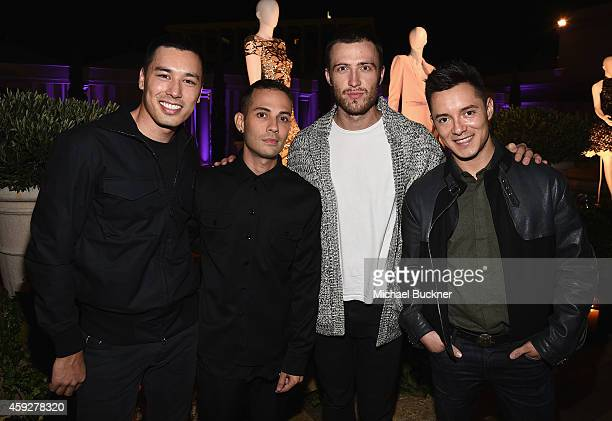 Guests attend the August Getty Atelier Dinner at the Montage Hotel Rooftop Grill on November 19 2014 in Beverly Hills California