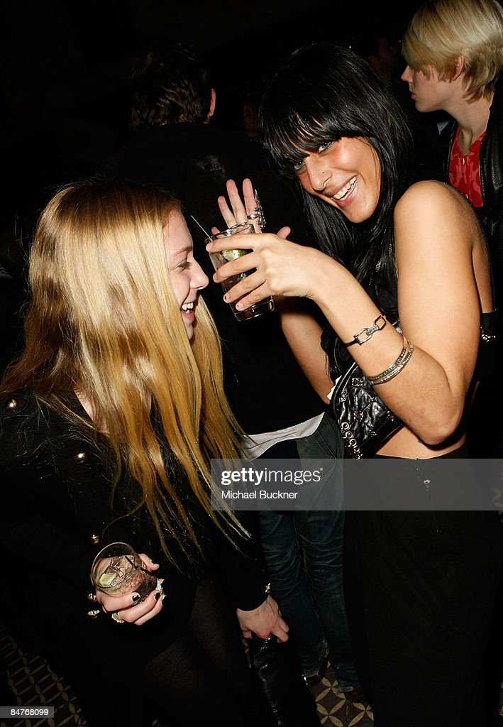 Guests attend the Belvedere IX Launch Party at The Bowery Hotel on February 12, 2009 in New York City.