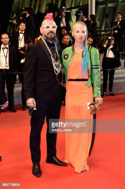 guests attend the 'Blade Of The Immortal ' screening during the 70th annual Cannes Film Festival at Palais des Festivals on May 18 2017 in Cannes...