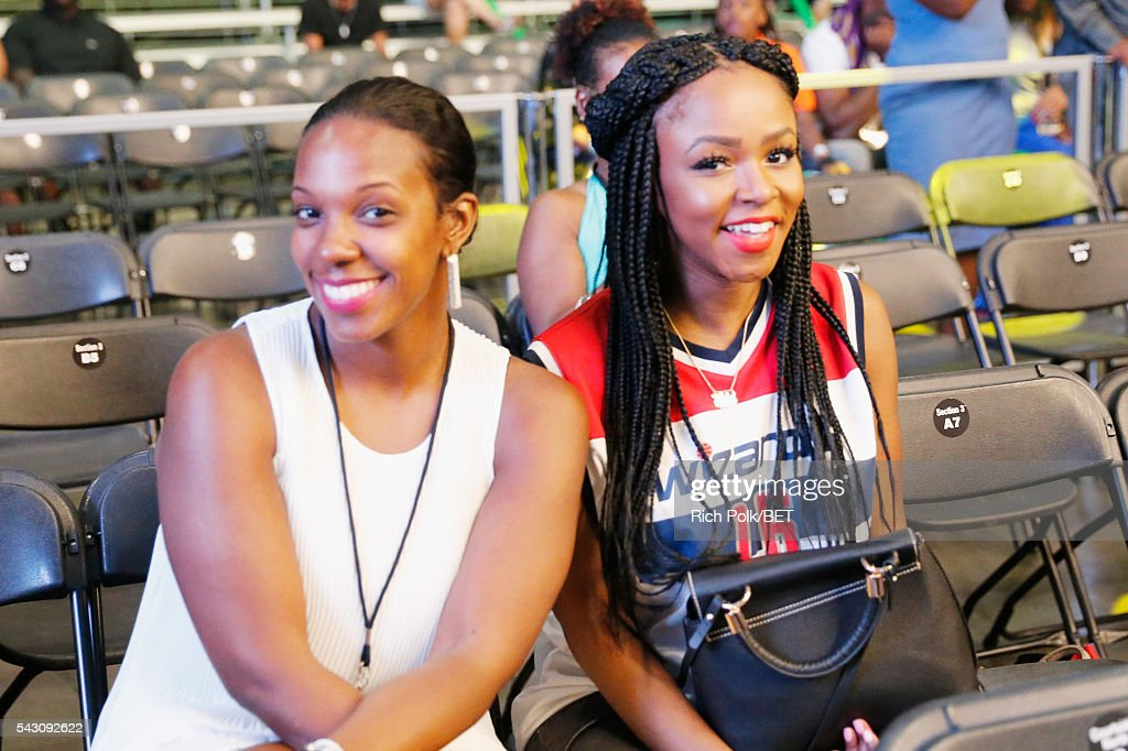 Guests attend the celebrity basketball game presented by Sprite during the 2016 BET Experience on June 25, 2016 in Los Angeles, California.