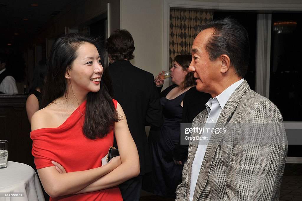 Guests attend the China Lion D And Huayi Brothers MC Present 'Aftershock' Reception at The Beverly Hilton hotel on November 1 2010 in Beverly Hills...