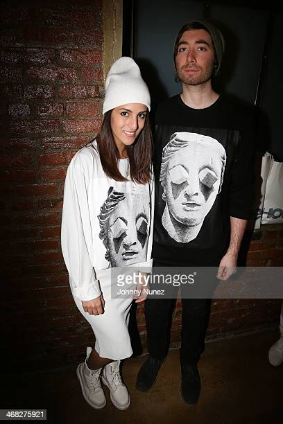 Guests attend the Daniel Arsham x Chris Stamp Presentation during MADE Fashion Week Fall 2014 at Milk Studios on February 9 2014 in New York City
