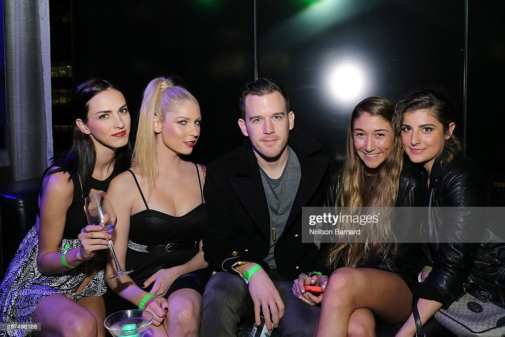 Guests attend the Dare To Fly AJXX8 event at PH-D Rooftop Lounge at Dream Downtown on December 3, 2012 in New York City.