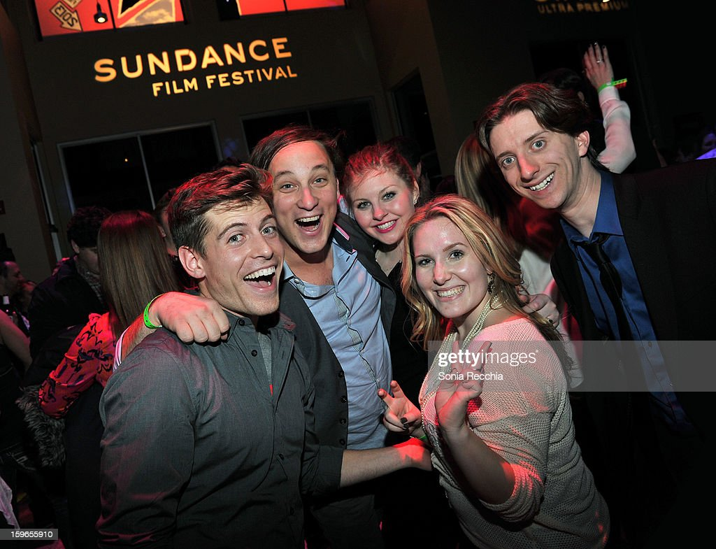 Guests attend the Day One Party during the 2013 Sundance Film Festival at Legacy Lodge on January 17, 2013 in Park City, Utah.