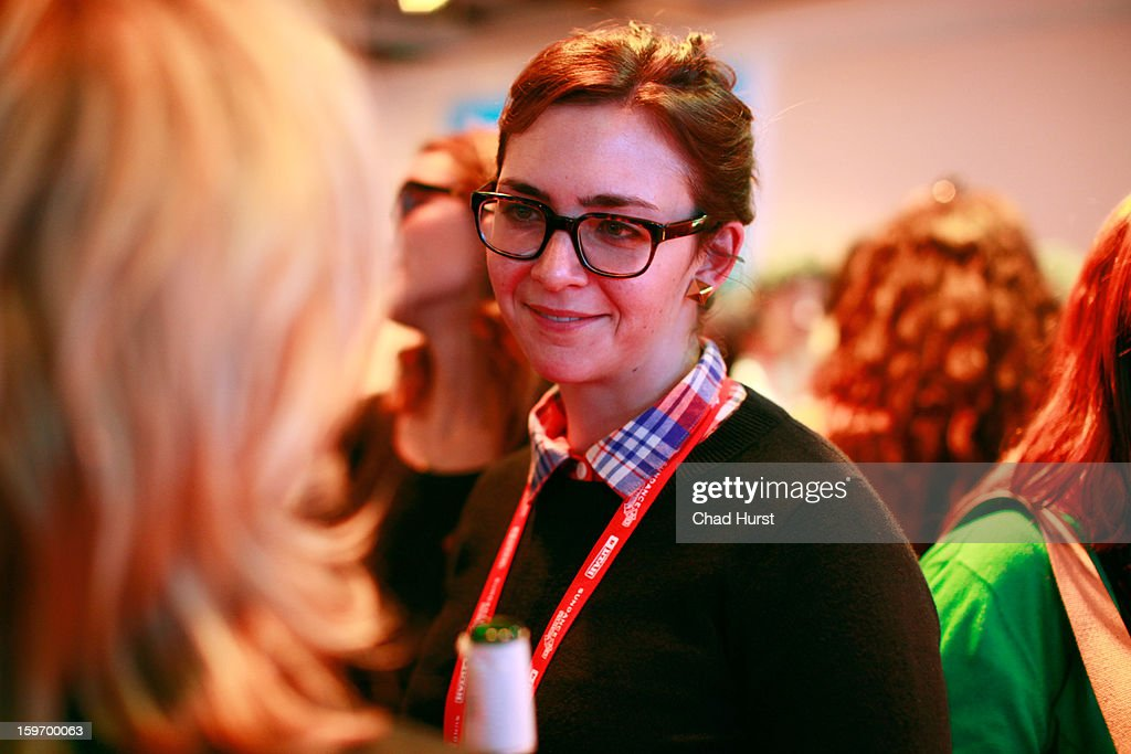 Guests attend the DFP Reception Co-Hosted by CNN Films at Sundance House during the 2013 Sundance Film Festival on January 18, 2013 in Park City, Utah.