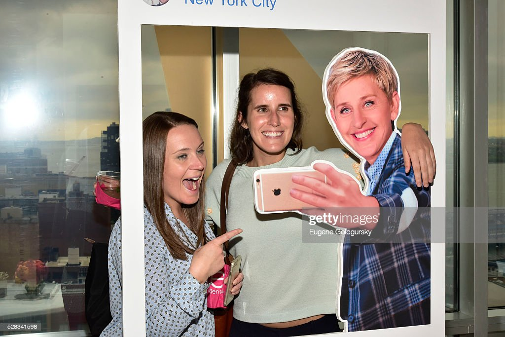 Guests attend the Ellen Digital New Front on May 4, 2016 in New York City.
