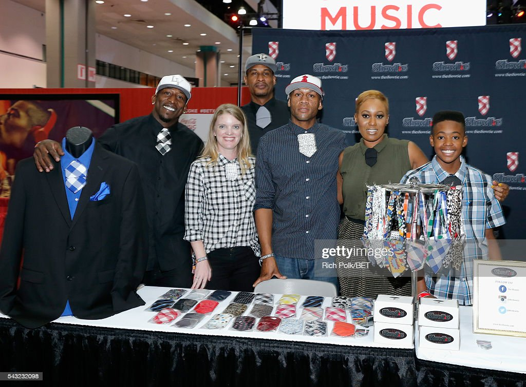Guests attend the Fan Fest during the 2016 BET Experience on June 26, 2016 in Los Angeles, California.