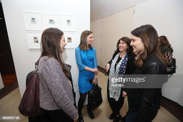 Guests attend the Female Bosses celebration and BOSS BITCH book launch and interactive panel event at The Core Club on March 22 2017 in New York City