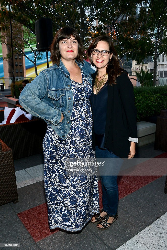 Guests attend the Filmmaker Reception during the 2014 Los Angeles Film Festival at Club Nokia on June 13, 2014 in Los Angeles, California.