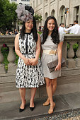 Guests attend The Frick Collection 2015 Spring Garden Party at The Frick Collection on June 8 2015 in New York City