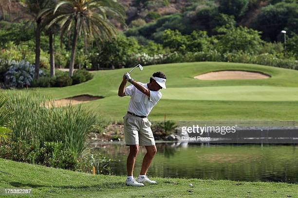 Guests attend the Global Gift Celebrity Golf Tournament to help raise money for The Eva Longoria Foundation and Fundacion SOS at La Quinta Golf...