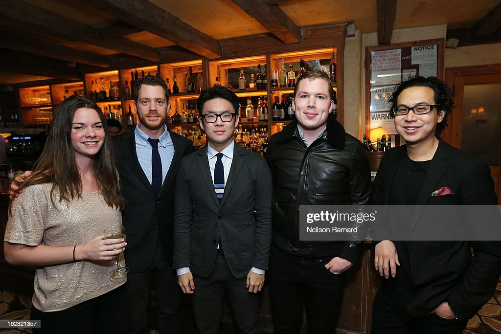 Guests attend the GQ 'After Visiting Friends' book party on February 21, 2013 in New York City.