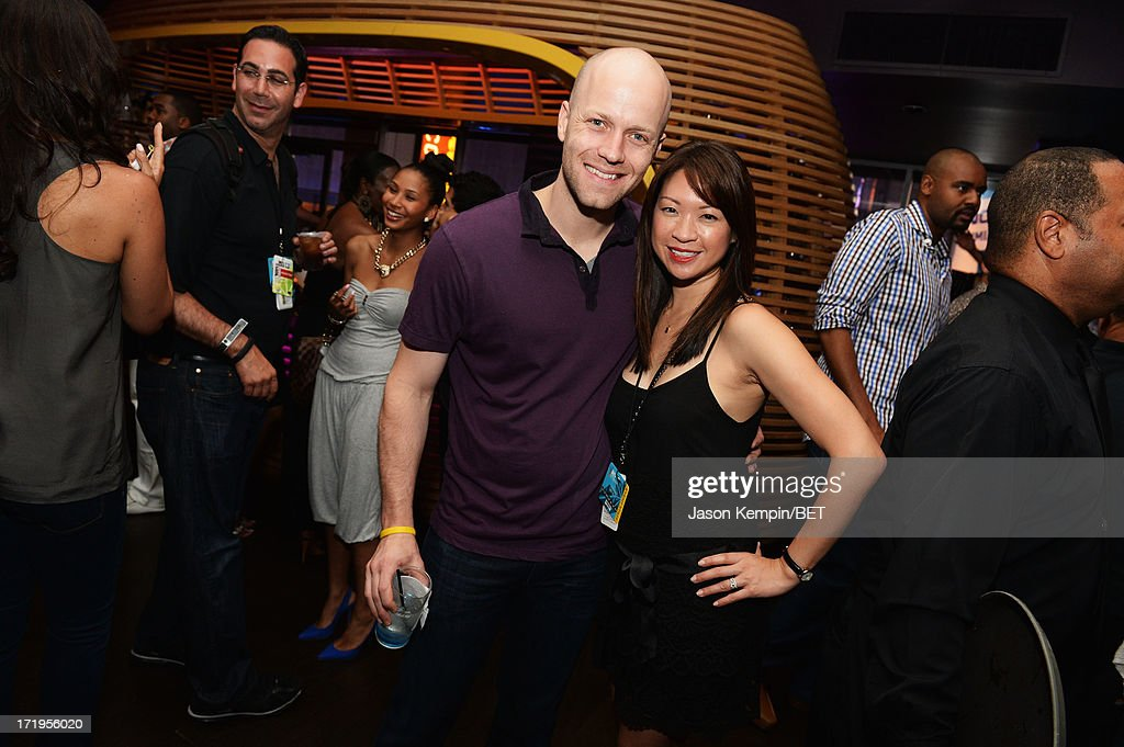 Guests attend the Grey Goose Cherry Noir Flavored Vodka VIP after party day 1 at The Conga Room at L.A. Live on June 28, 2013 in Los Angeles, California.
