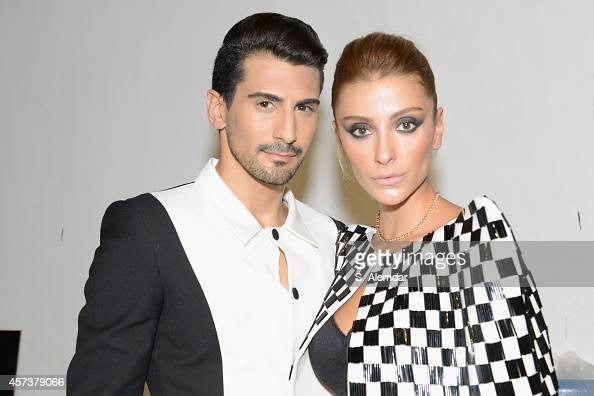 Guests attend the Hakan Akkaya show during Mercedes Benz Fashion Week Istanbul SS15 at Antrepo 3 on October 17 2014 in Istanbul Turkey